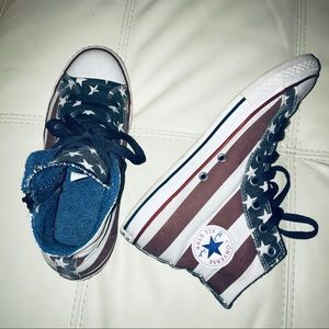 Converse Shoes - Converse American Flag High Top Sneakers